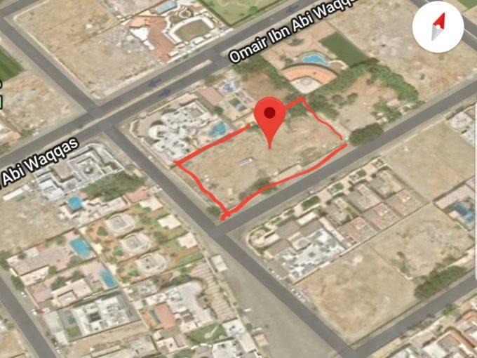 للبيع ارض سكنية 4500م حي المرجان جدة