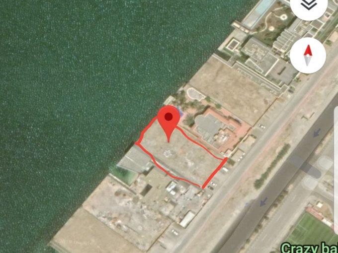 للبيع ارض سكنية 1760م على البحر مباشرة حي ابحر الجنوبية جدة