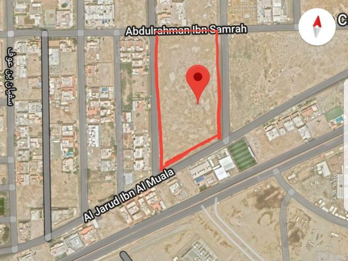 للبيع ارض سكنية 17000م حي ابحر الجنوبية الشرقي جدة