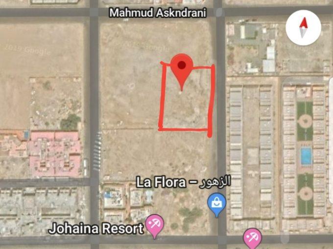 للبيع ارض سكنية 2500م حي ابحر الجنوبية الشرقي جدة