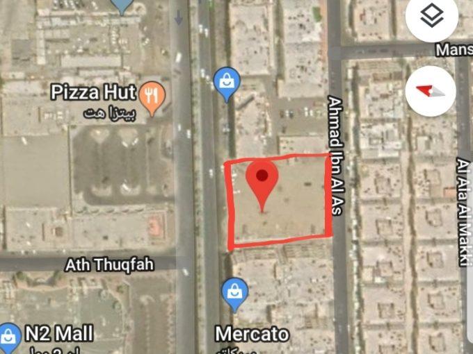 للبيع ارض تجارية 3200م حي الفيصلية جدة