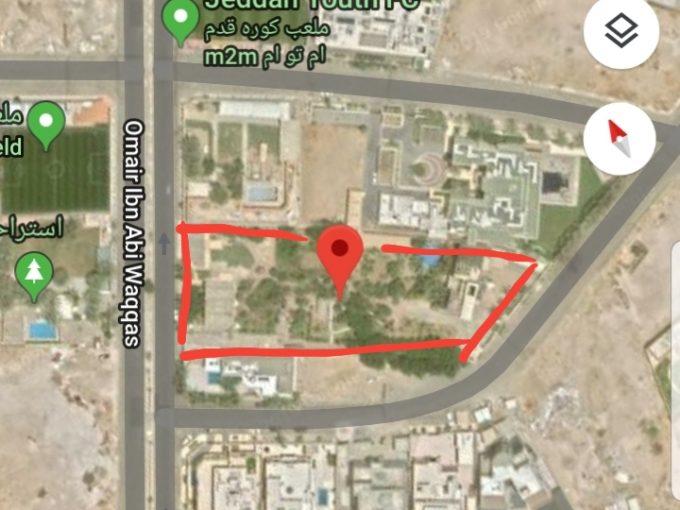للبيع ارض سكنية 6800م حي المرجان جدة