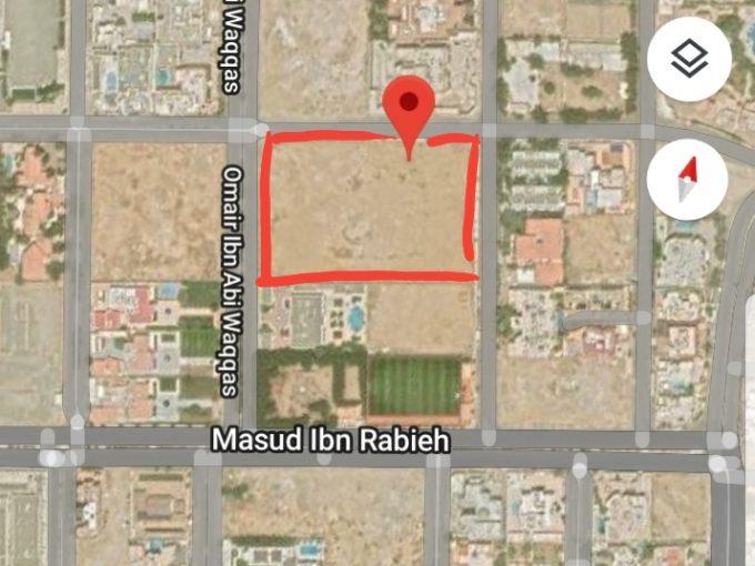للبيع ارض سكنية 15للف متر حي المرجان جدة