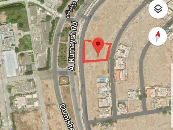 للبيع ارض سكنية 1295م حي المرجان جدة