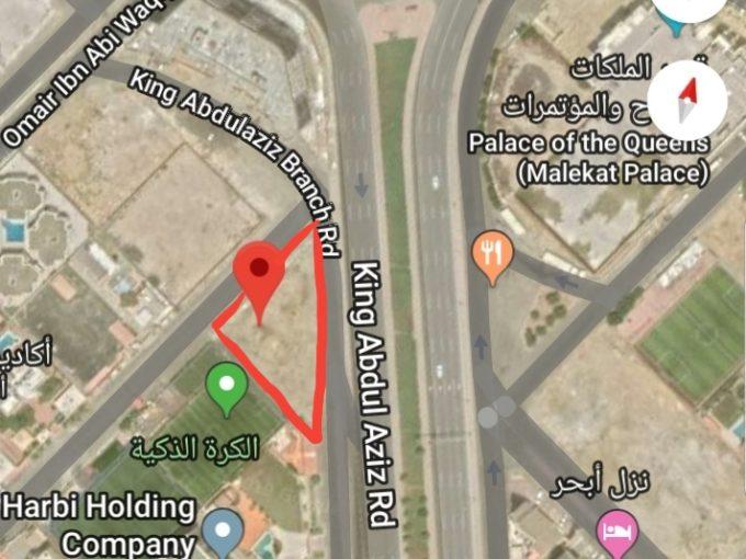 للاستثمار ارض تجارية 1300م طريق الملك جدة