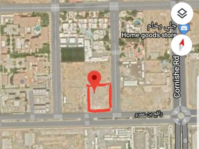 للبيع ارض سكنية حي المرجان جدة